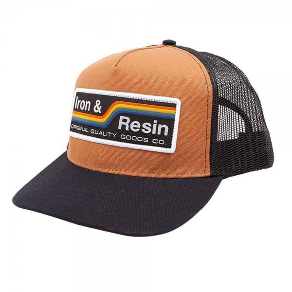 """IRON & RESIN Hat - """"Baker"""" - copper"""