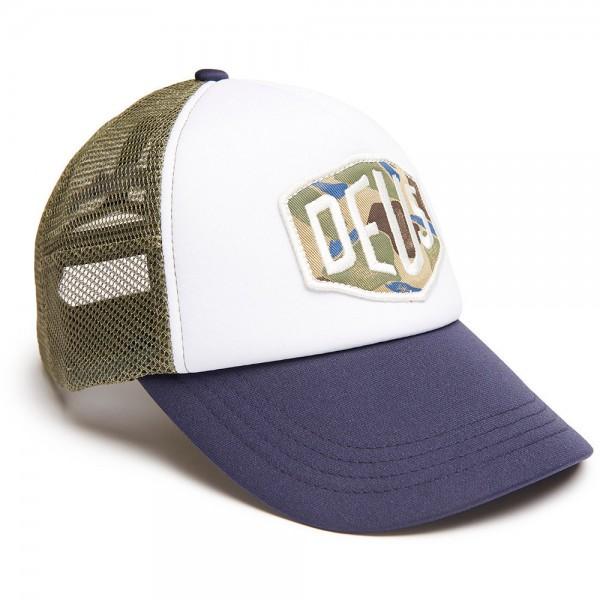"DEUS EX MACHINA Hat - ""Camo"" - blue, olive & white"