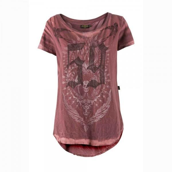 "RUDE RIDERS Women's T-Shirt - ""59 SO. CAL."" - red"