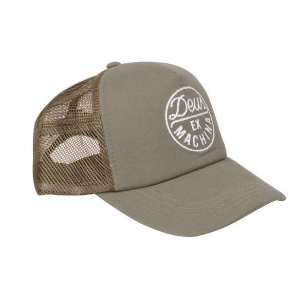 """DEUS EX MACHINA Hat - """"Hackman 2 Trucker"""" - olive"""