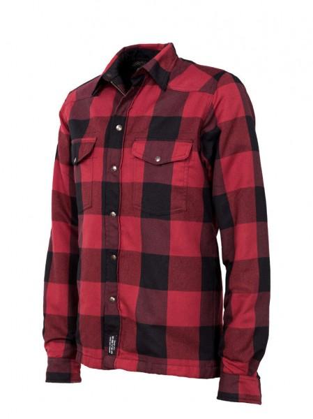 "JOHN DOE Riding Shirt - ""Lumberjack"" - red & black"