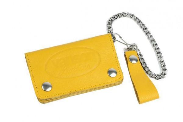 "VANSON LEATHERS Wallet - ""Wallet 3"" - yellow"