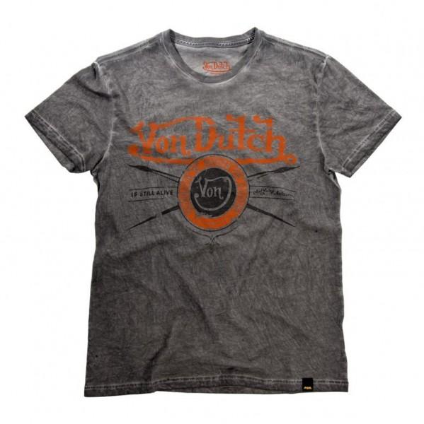 """VON DUTCH T-Shirt - """"Original"""" - olive"""