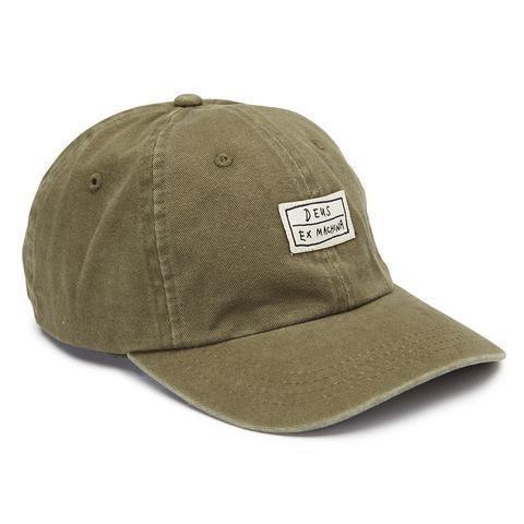 """DEUS EX MACHINA Hat - """"Cas Cap"""" - olive"""