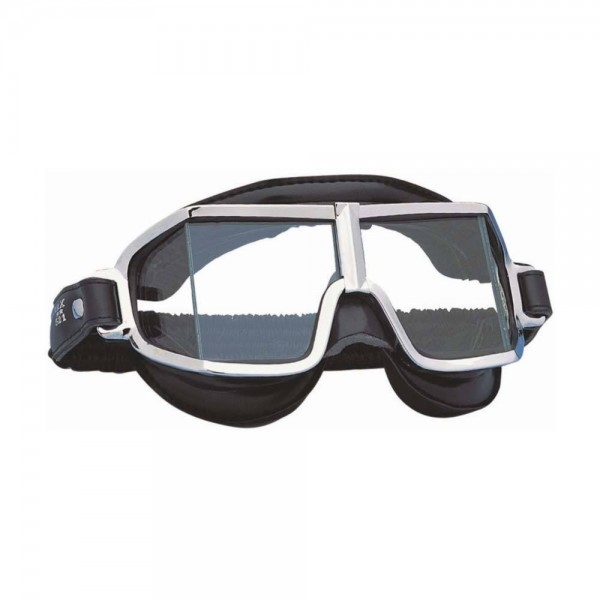 "CLIMAX Goggles - ""521"" - chrome & black"