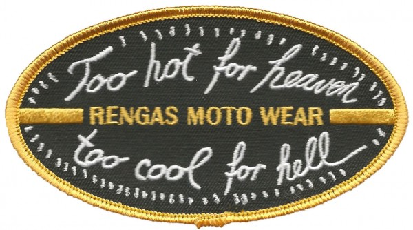 """RENGAS Patch - """"Too Hot for Heaven too Cool for Hell"""""""