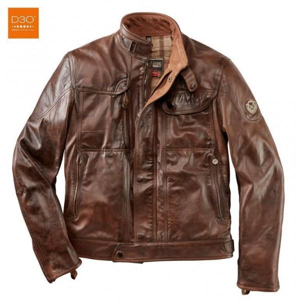 """MATCHLESS PM Jacket - """"Kensington Blouson"""" - antique brown"""