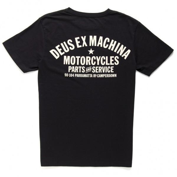 """DEUS EX MACHINA T-Shirt - """"Camperdown Address"""" - black"""