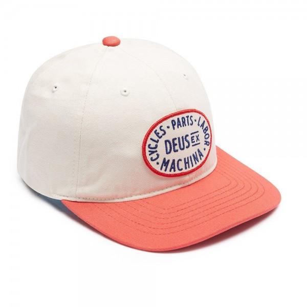 """DEUS EX MACHINA Hat - """"Alder"""" - cream & red"""