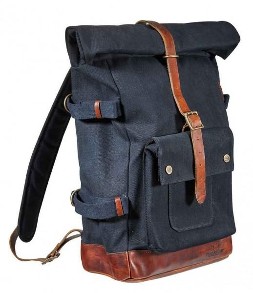 """ROKKER - """"Edmonton Backpack"""" - black & brown"""