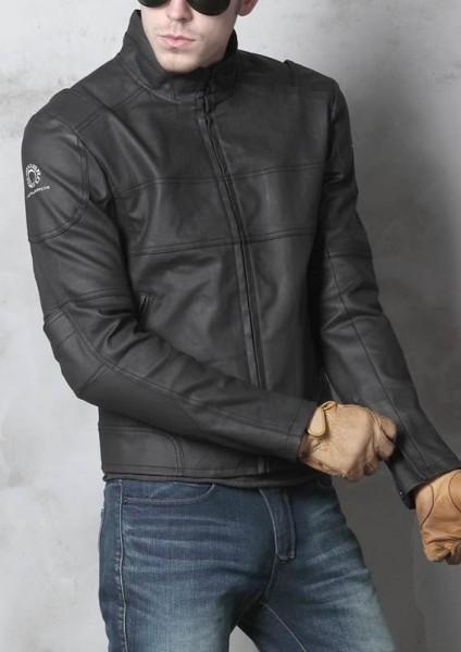 """uglyBROS Jacket - """"Rockerz 2"""" - motorcycle jacket incl. protectors - black"""