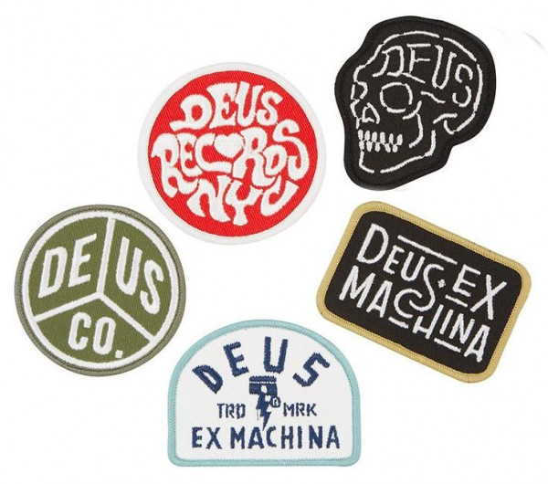 """DEUS EX MACHINA Patches - """"Patch Pack Three"""" - set of 5 patches"""