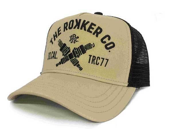 """ROKKER Hat - """"TRC77 Trukker"""" - sand"""