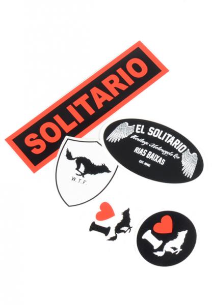 "EL SOLITARIO stickers - ""ES Sticker Pack"" - 5 pcs."