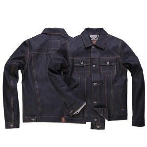 "ROKKER Jacket - ""Raw Denim 16 oz"" - blue"
