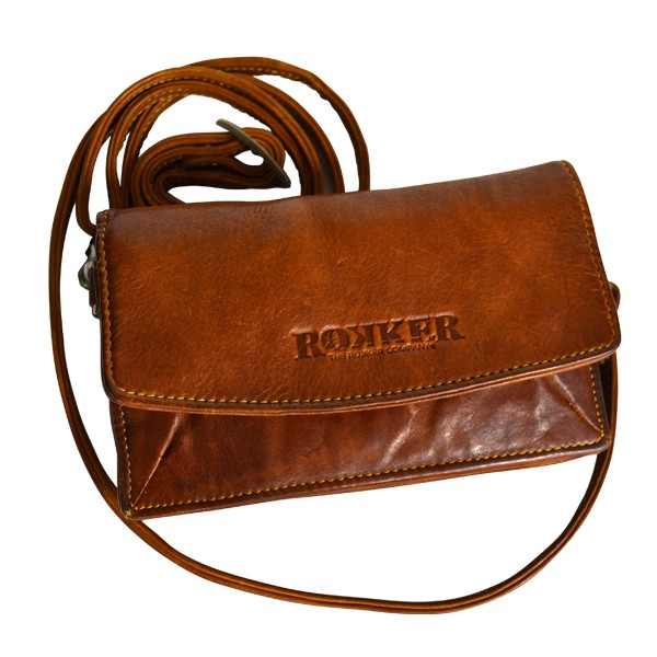 """ROKKER Wallet - """"Lady Wallet"""" - cognac"""