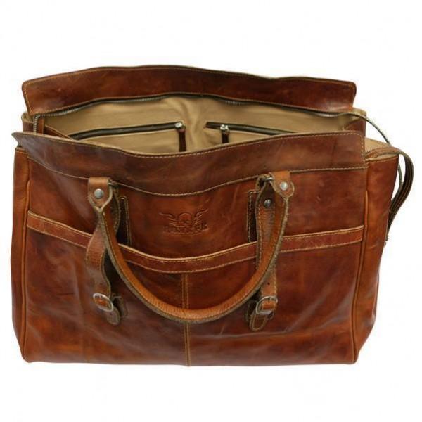 """ROKKER Bag - """"Weekender Big"""" - dark brown"""