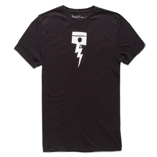 "DEUS EX MACHINA T-Shirt - ""Pisstin"" - black"