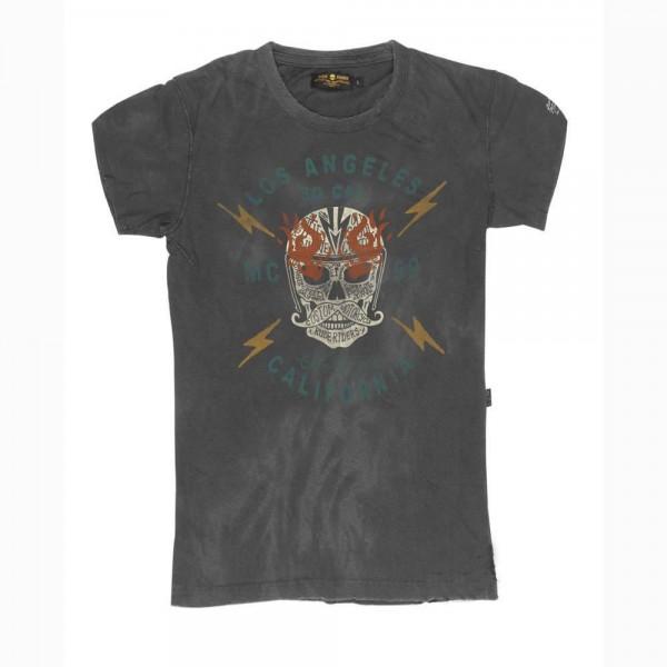 """RUDE RIDERS T-Shirt - """"So. Cal."""" - dark grey"""