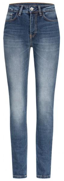 ROKKER Women's Jeans - Rokkertech High Waist Slim - blue