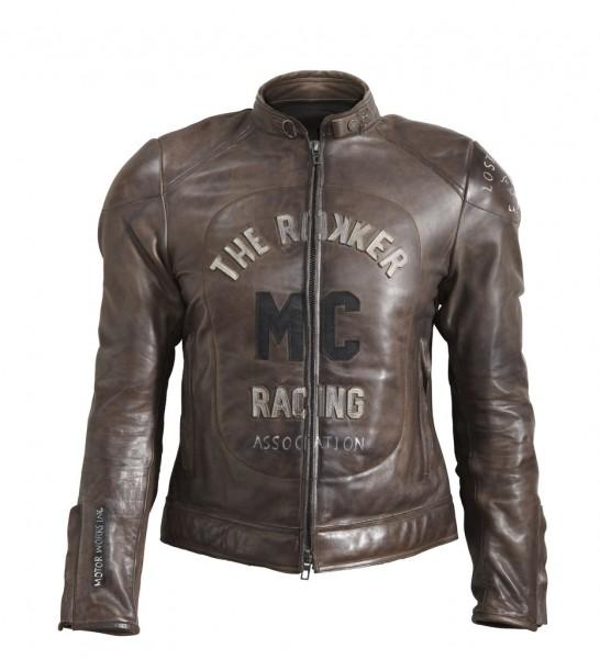 "ROKKER Jacket - ""MC Leather Jacket"" - brown"