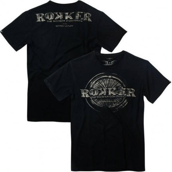 """ROKKER T-Shirt - """"Rokker Wheel"""" - black"""