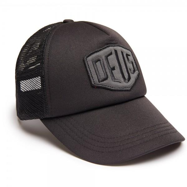 "DEUS EX MACHINA Hat - ""Colour Shield Trucker"" - black"