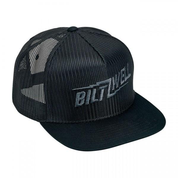 """BILTWELL Hat - """"Bolts"""" - black"""