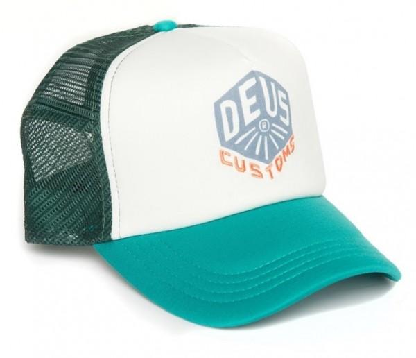 """DEUS EX MACHINA Hat - """"Skoot Trucker"""" - bayou green"""