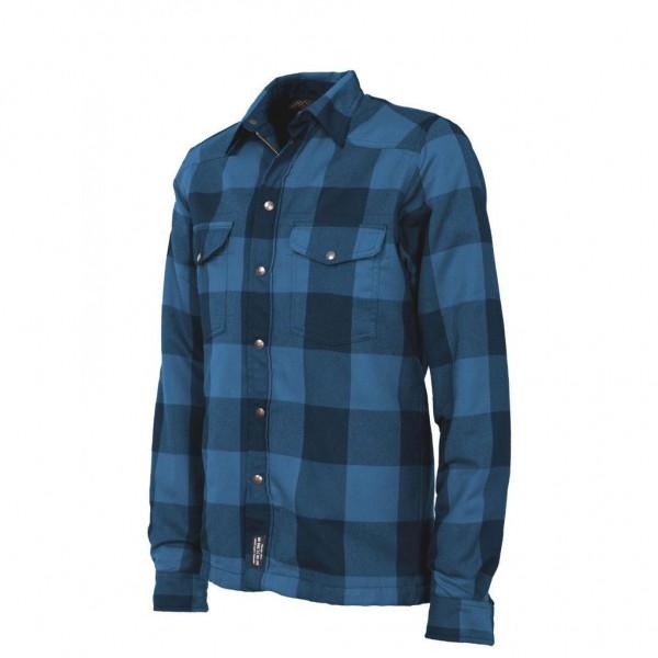 """JOHN DOE Riding Shirt - """"Lumberjack"""" - blue & black"""