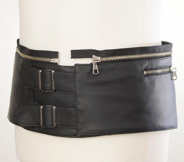 """HARRO Leather Suit - """"Assen PRO Kidney Belt Attachment"""" - black"""