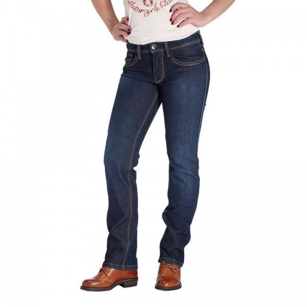 """ROKKER Women's Jeans - """"Revolution Lady Stretch"""" - waterproof, blue"""