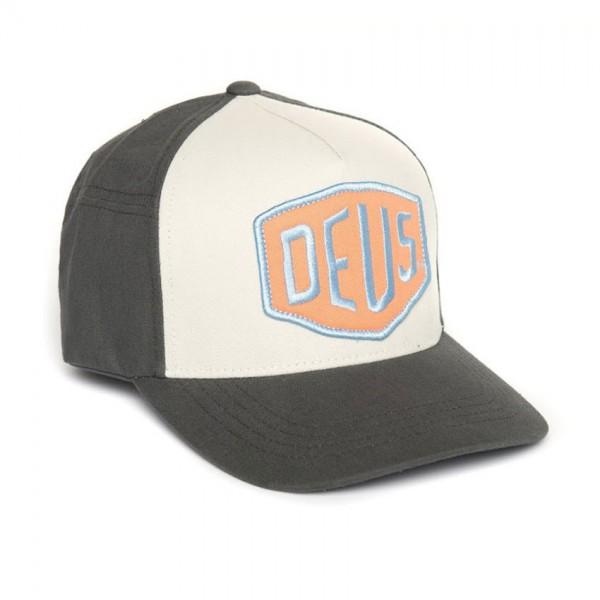 """DEUS EX MACHINA Hat - """"Colour Shield"""" - dark grey"""