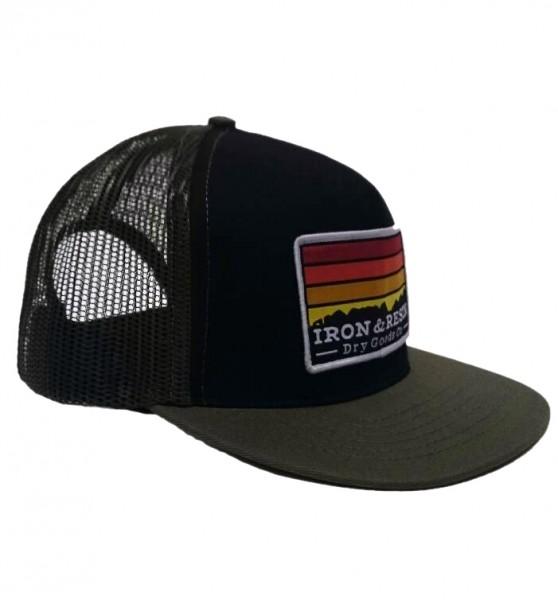 "IRON & RESIN Hat - ""Horizon"" - olive"
