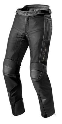 """REV'IT Leather Jeans - """"Gear 2"""" - waterproof men's motorcycle trousers"""