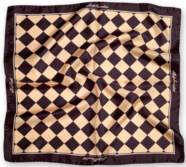 "HOLY FREEDOM silk scarf - ""Bullit Gold Foulard"" - gold"