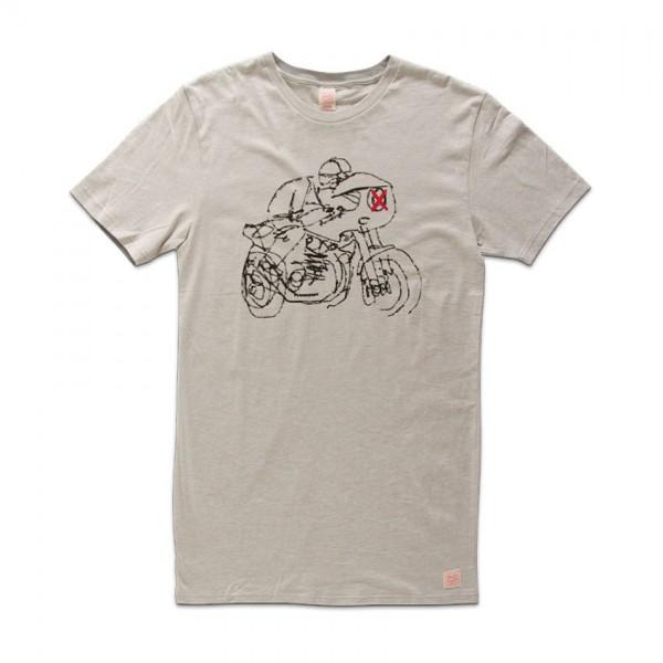 "DEUS EX MACHINA Shirt - ""Lele Rider"" - grey"