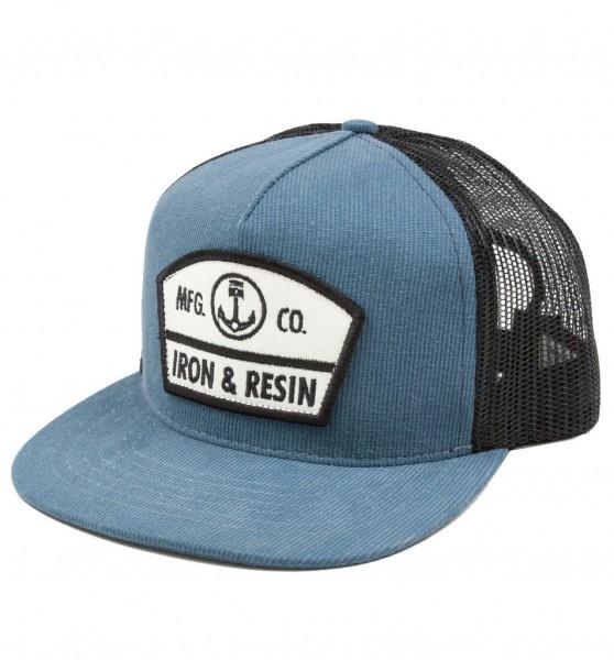 "IRON & RESIN Hat - ""Randall"" - blue"